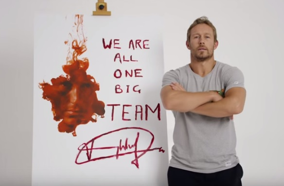 Give blood Jonny Wilkinson