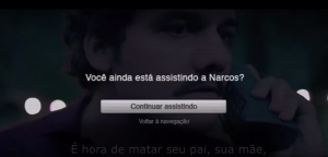 Netflix Brasil tell students: Stop watching and study.