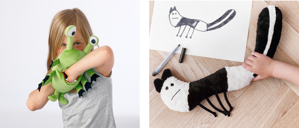 IKEA turn kid's drawings into cuddly toys in brilliant charity campaign