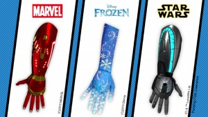 Open Bionics create Disney-Themed 3D Printed Bionic Arms for Little Heroes