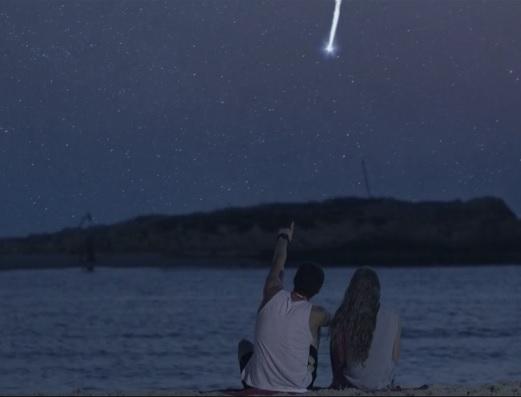 Shooting stars - Coca-cola