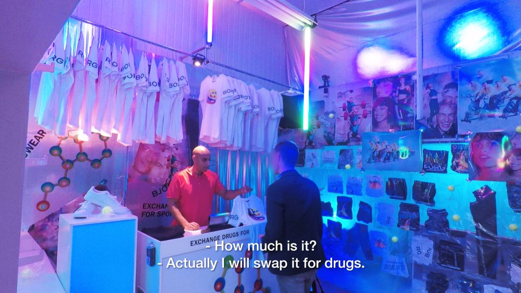 6094e0ffd0cf73 Swedish sports brand opens shop where you can swap drugs for gym kit ...