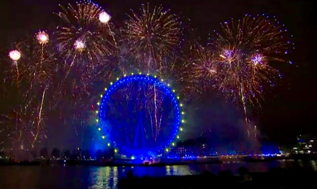 New Years Eve London