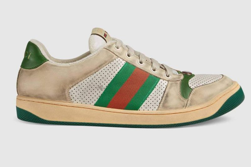 586fcfd9e50 Gucci charge £615 for a pair of  dirty  trainers