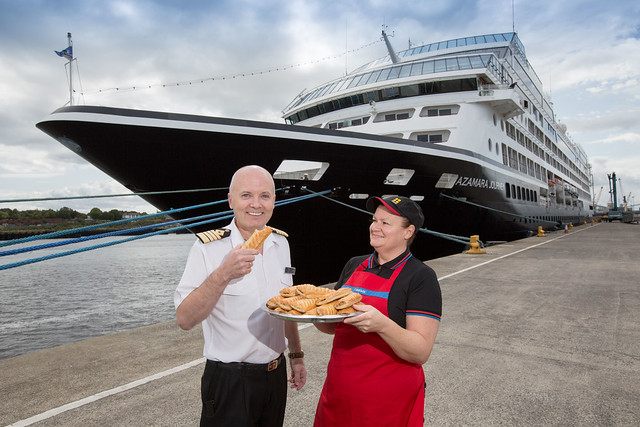 Luxury cruise orders in Greggs for 700 passengers